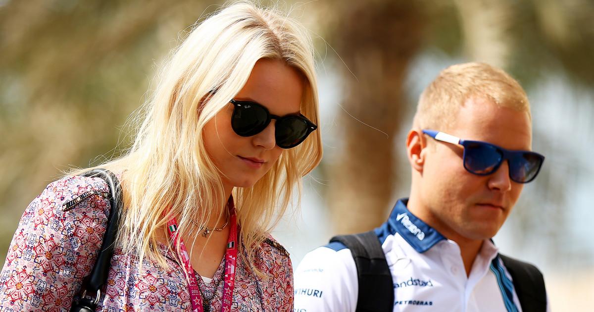 Bottas emilia F1 star