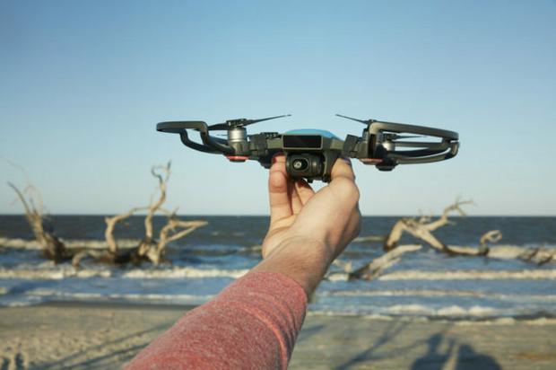 DJI Spark: najmniejszy dron chińskiego producenta