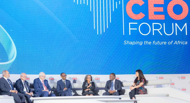 Economic Integration Panel at the Africa CEO Forum 2019