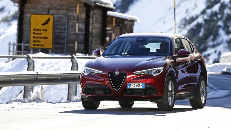 Alfa Romeo Stelvio - zawsze dobrze wygląda