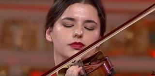 Maria Włoszczowska w finale Konkursu Skrzypcowego im. H. Wieniawskiego