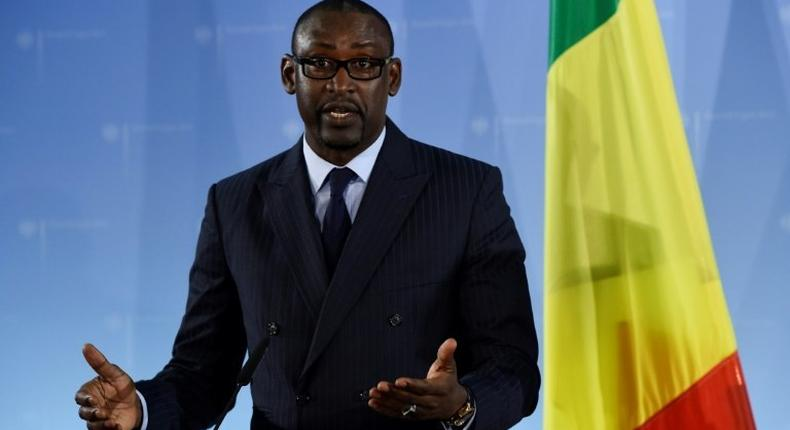 Malian Foreign Affairs Minister Abdoulaye Diop said the visit of his Dutch counterpart Bert Koenders to Bamako had never been intended as the moment to make a deal