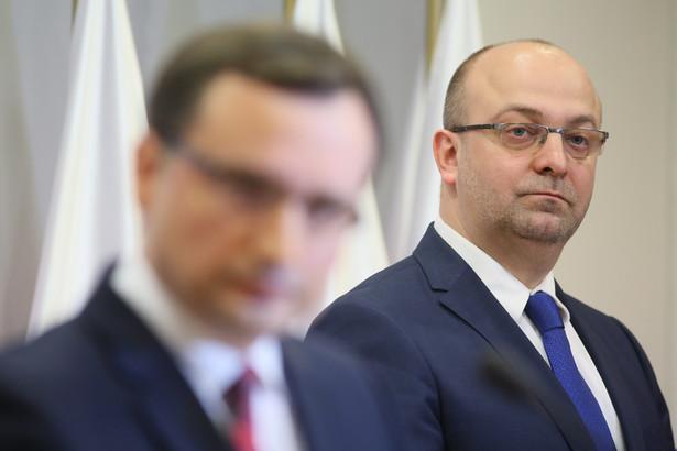 Zbigniew Ziobro i Łukasz Piebiak