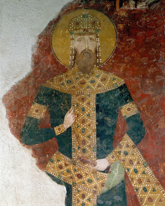 Freska Kralja Milutina