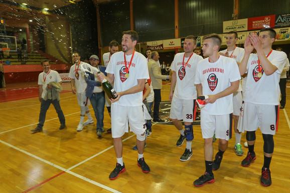 Košarkaši Slobode slave istorijski uspeh