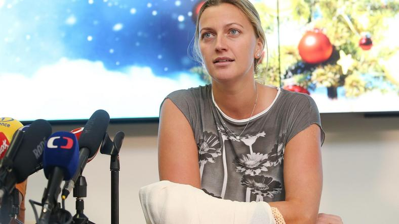Nadal nie wiadomo, kiedy Petra Kvitova wróci na kort