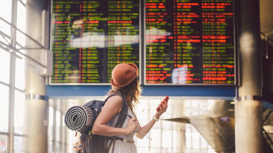 Byli na lotnisku w Warszawie, ale nie polecieli. Ryanair tłumaczy