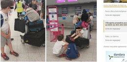 Rodzina z dwójką dzieci utknęła na lotnisku. Nie wpuścili ich na pokład