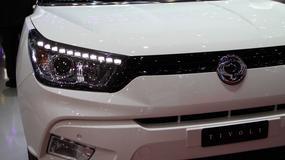 SsangYong Tivoli - nadchodzi nowy SUV (Genewa 2015)