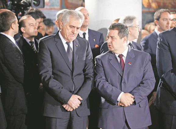 Postali rivali: Tomislav Nikolić i Ivica Dačić