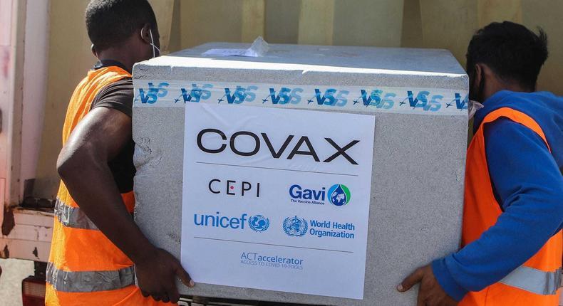 COVAX coronavirus vaccins