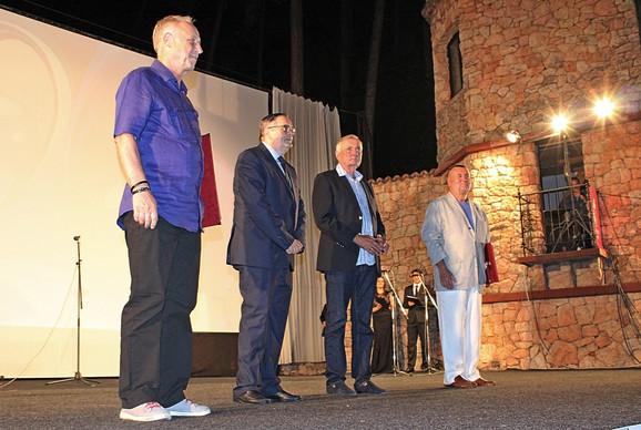 Festival evropskog filma Palić, Miljen Kljaković Kreka, Radoslav Zelenović, Dušan Kovačević i Rajko Grlić
