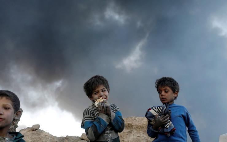 Kajara, Požar, Irak, ISIS