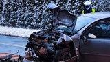 Dramatyczny wypadek pod Lesznem. Nie żyje 11-miesięczne dziecko