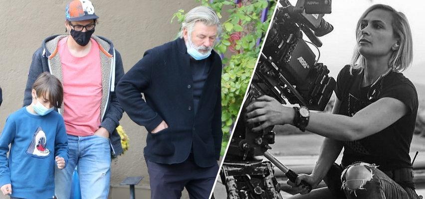 Alec Baldwin widział się z mężem i synkiem, zastrzelonej operatorki. To nie było łatwe spotkanie. ZDJĘCIA