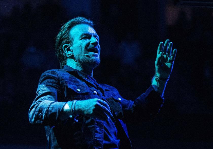 Bono stracił głos