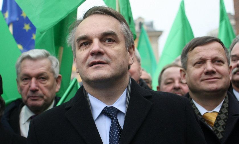 Waldemar Pawlak przewodniczący PSL.