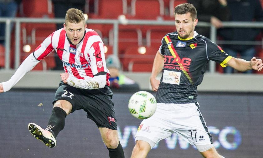 Cracovia z Górnikiem Łęczną zagra o posadę trenera Jacka Zielińskiego