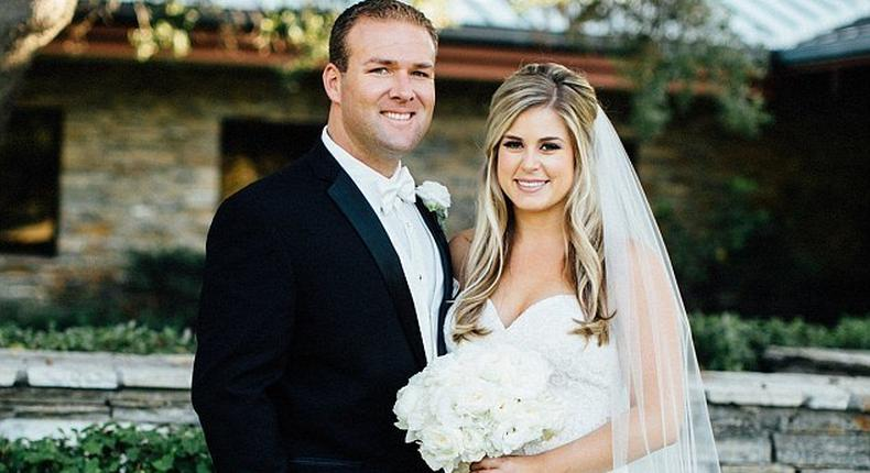 The wedding of Cody Campbell and Kelly Yocca was not without drama on Saturday, after a female guest started choking at their reception in Orange County, California