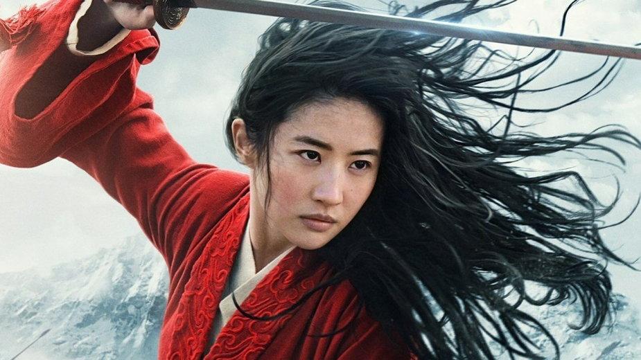 "Liu Yifei w filmie ""Mulan"""