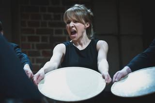 'Pieśni Leara' Teatru Pieśń Kozła w londyńskim The Globe
