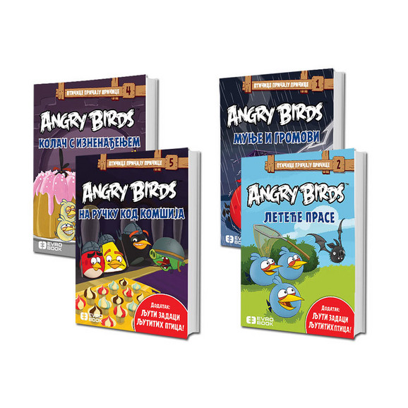 Angry Birds komplet 4 knjige