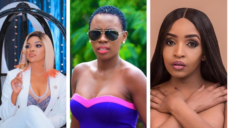 Wema Sepetu , Akothee and Ella Wanjiru