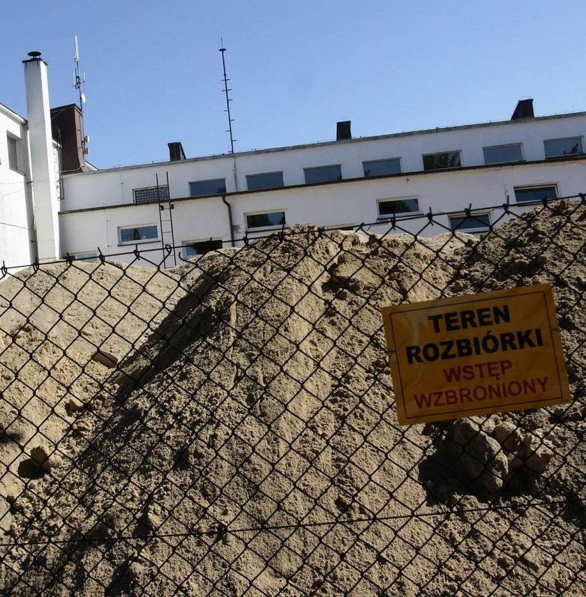 Katastrofa budowlana w szkole w Płochowie