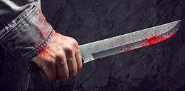 Agresywny 16-latek rzucił się z nożem na mężczyznę