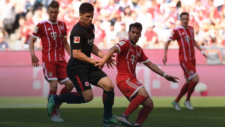 Bayern Monachium - Eintracht Frankfurt