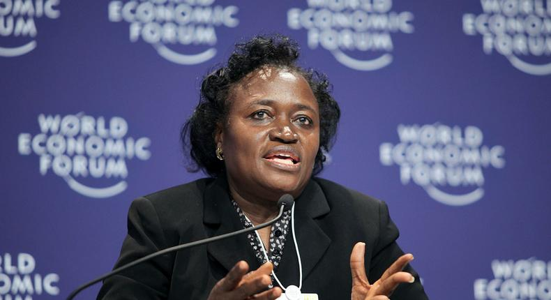 Dr. Sarah Alade, Former deputy governor at CBN and Chairman (NESG) Fiscal Policy Roundtable