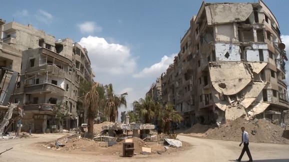 Sirija je uništena građanskim ratom i terorističkim napadima