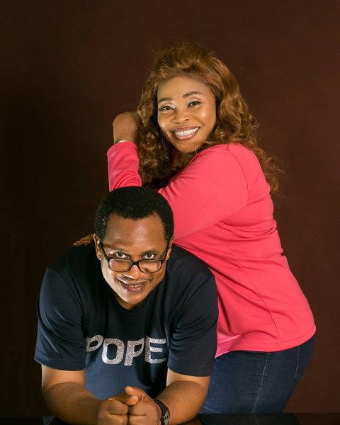 Tope Alabi and her husband, Soji Alabi [Instagram/TopeAlabi]