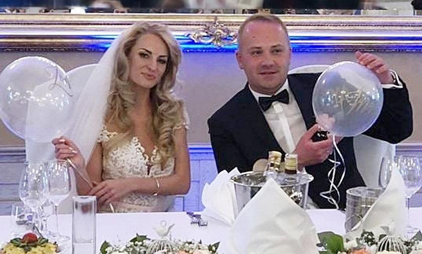 """Anita Szydłowska i Adrian Szymaniak wzięli ślub w trzeciej edycji """"Ślub od pierwszego wejrzenia"""""""