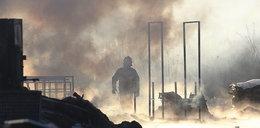 Wielki pożar w Markach pod Warszawą