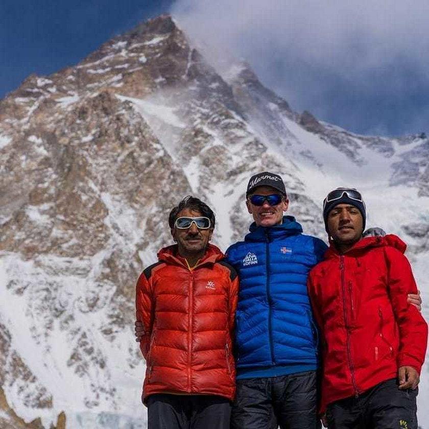 John Snorri, Ali Sadpara i Juan Pablo Mohr zaginęli w lutym. Himalaiści próbowali zdobyć K2