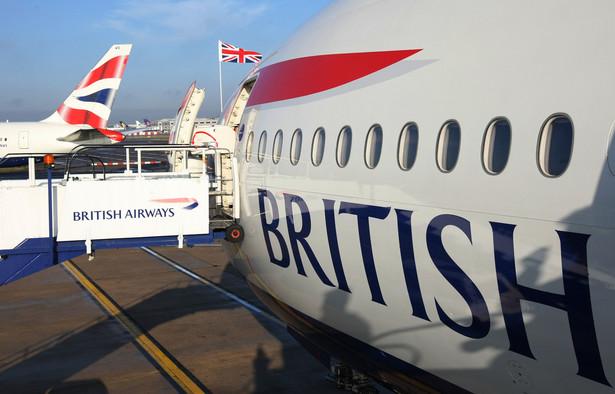 Personel kabinowy linii lotniczych British Airways rozpoczął nowy pięciodniowy strajk. Fot. Bloomberg