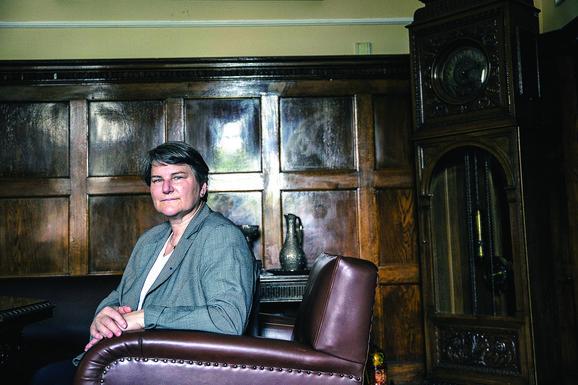 Ivanka Popović, rektorka Univerziteta  u Beogradu