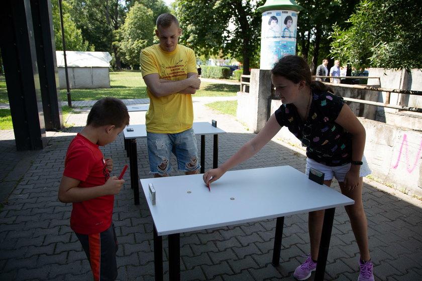 Dzień zabaw i gier podwórkowych w Krakowie