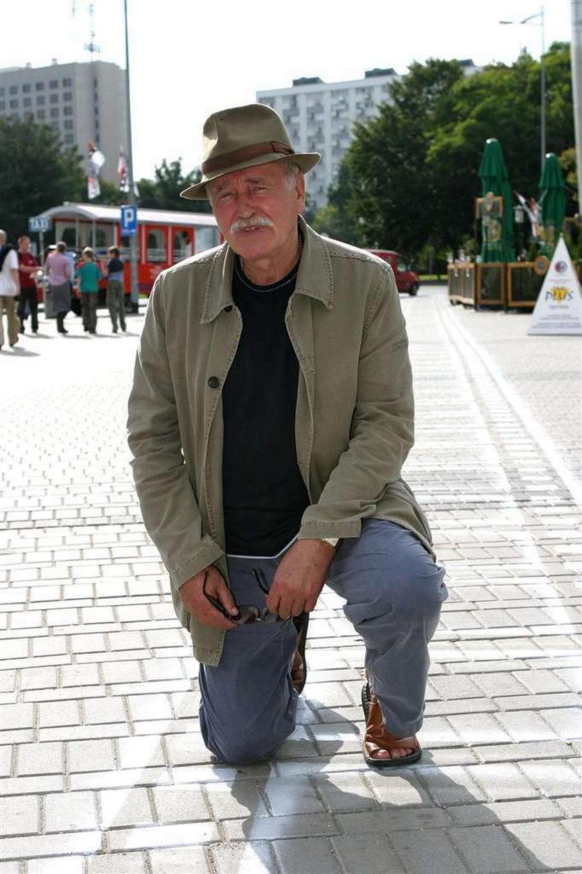 Jan Nowicki o idiotach wśród aktorów