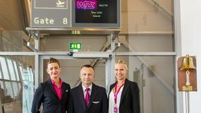 5 nowych tras Wizz Air z Polski - ze Szczecina do Bergen i z Gdańska do Billund, Aberdeen i Brukseli Charleroi