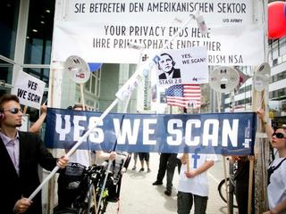 yes we scan prism protest inwigilacja