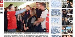Artykuł Faktu czołówkąw brytyjskiej prasie