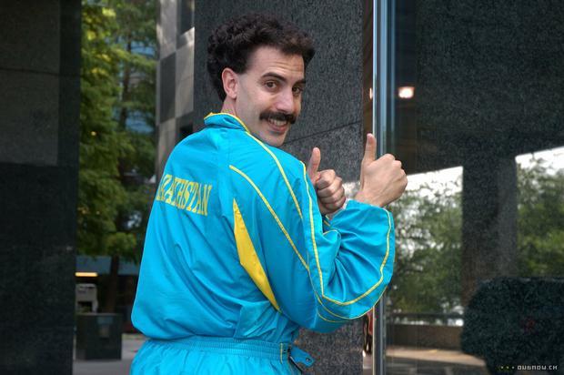 """""""Borat"""": kadr z filmu"""