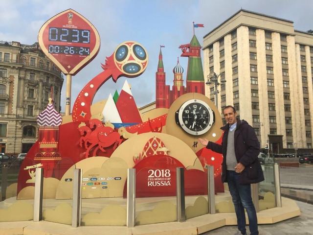 Sportski direktor FSS-a Goran Bunjevčević u Rusiji