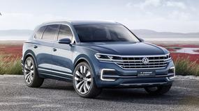 Volkswagen T-Prime Concept GTE – większy brat Touarega
