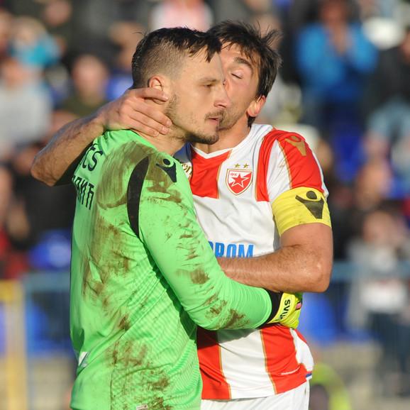 Zoran Popović je odbranio penal Milanu Bojoviću