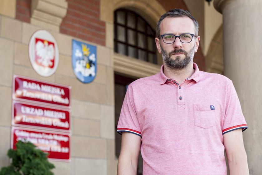 Mariusz Jarzombek (38 l.), doradca burmistrza ds. promocji i komunikacji
