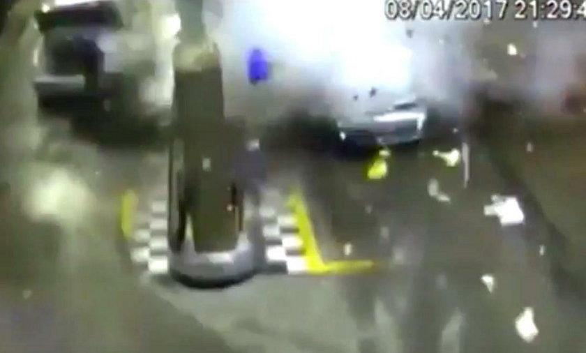 Wybuch tankowanego gazem auta. Zginęła kobieta!