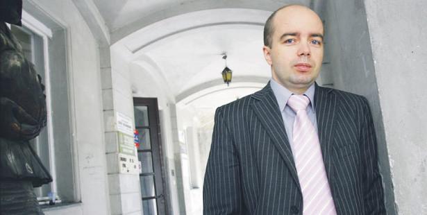 Tomasz Pańczyszyn, dyrektor generalny Krajowej Izby Biopaliw Fot. Wojciech Górski
